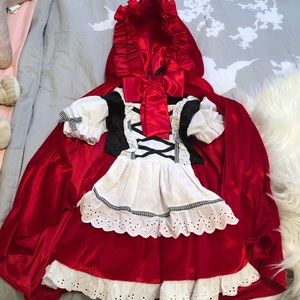 Litter Red Riding Hood Costume